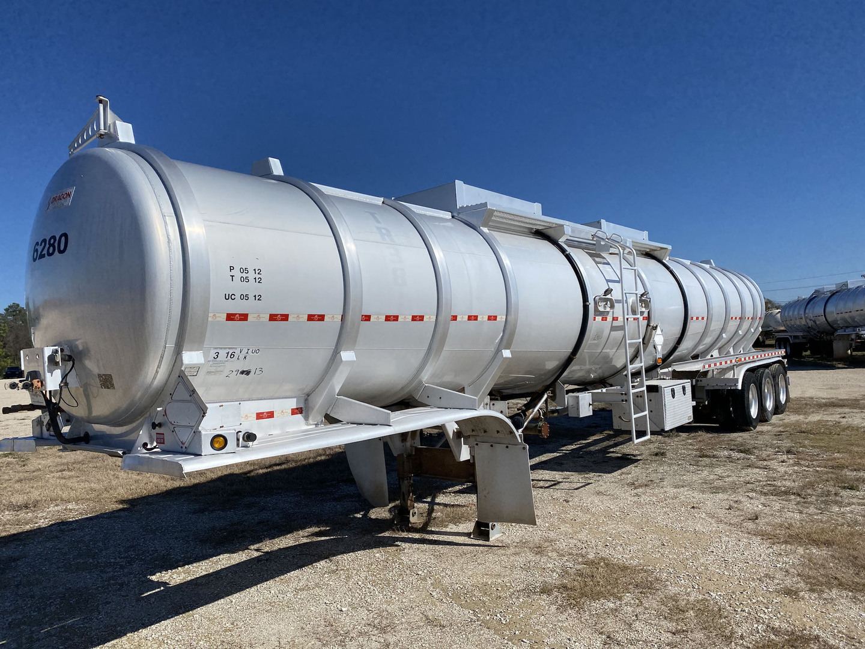 2012 Dragon 250 BBL Tri/A Aluminum Crude Oil Trailer
