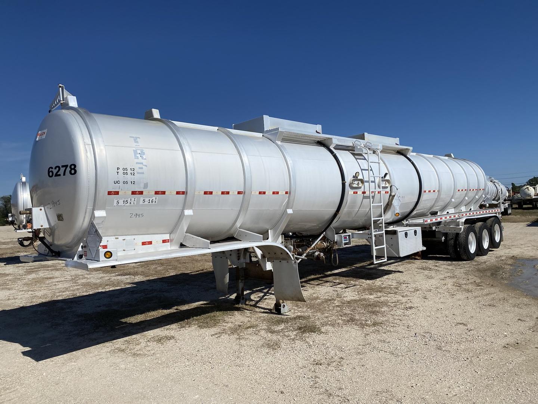 2012 Dragon Tri/A 250 BBL Aluminum Crude Oil Trailer