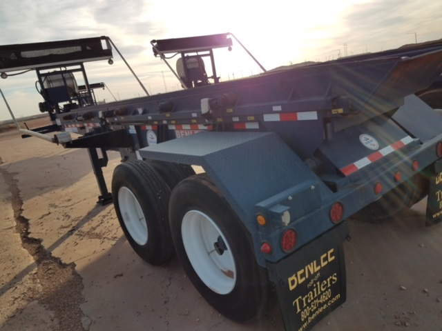 2012 Benlee Single Box Roll Off Trailer