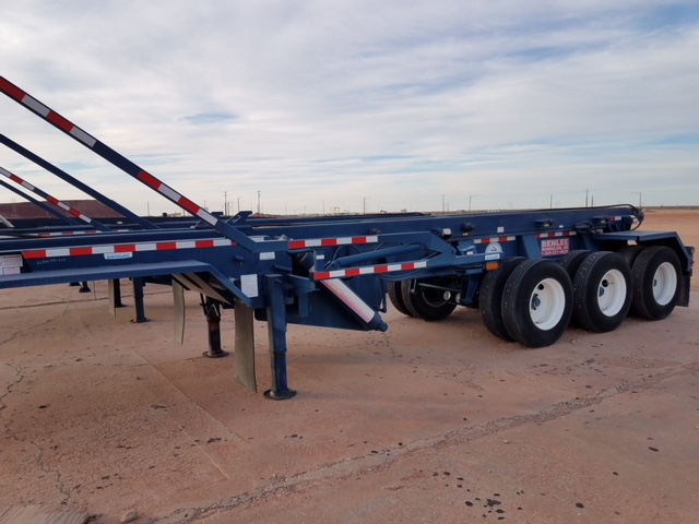 2012 Benlee Single Container Triaxle Roll Off Trailer