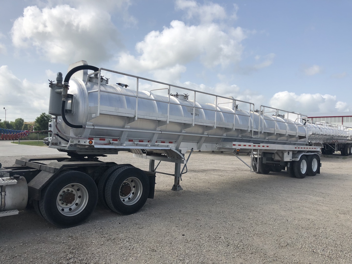 2007 Dragon 150BBL Vacuum Trailer